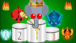 Mope.io Top 5 Players! - Ft. La Flame, Golden Light, and more!
