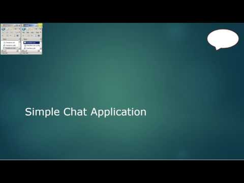 C# Simple Windows Client/Server Chat Application (using WCF & WPF)