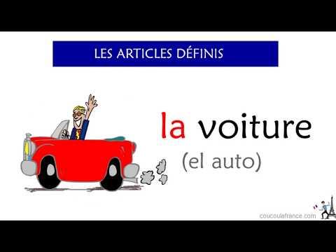 Los Artículos Definidos E Indefinidos En Francés - Explicación, Ejemplos
