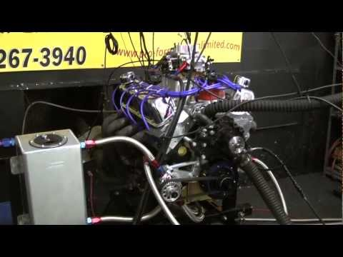 363 Ford Big Bore Stroker With Dry Sump