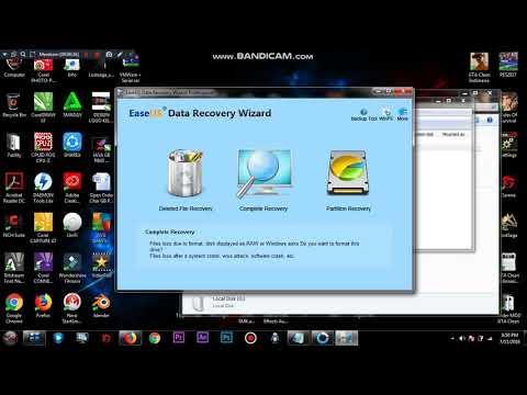 Cara Mengembalikan Data Hardisk atau Flashdisk Yang Terformat, Recovery HDD Flashdisk.