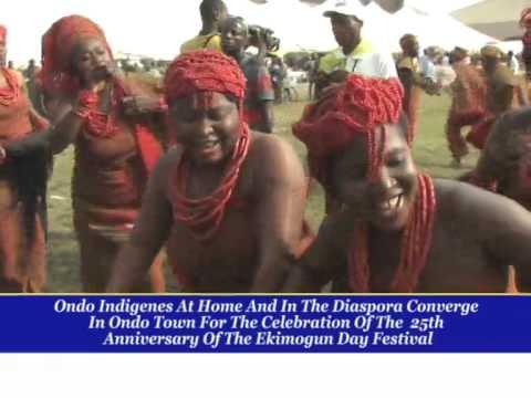 EKIMOGUN FEWSTIVAL IN ONDO STATE