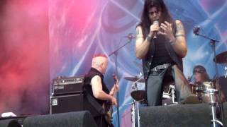 CRIMSON GLORY - RED SHARKS - ZWARTE CROSS - 16-07-2011