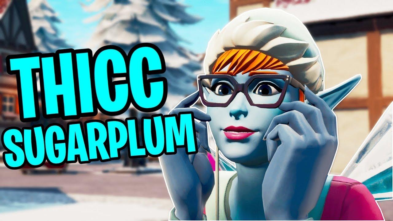 The THICCEST Fortnite Christmas Skin, Sugarplum - YouTube