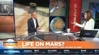Life on Mars?: Researchers discover a giant lake on the red planet