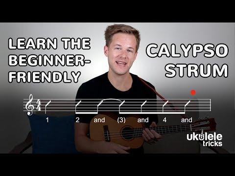 How to Play the Calypso Strum on Ukulele (Beginner Ukulele Lesson)