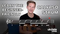 How to Play the Calypso Strum on Ukulele (Beginner Ukulele Lesson)