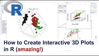 كيفية إنشاء 3D التفاعلية المؤامرة في R