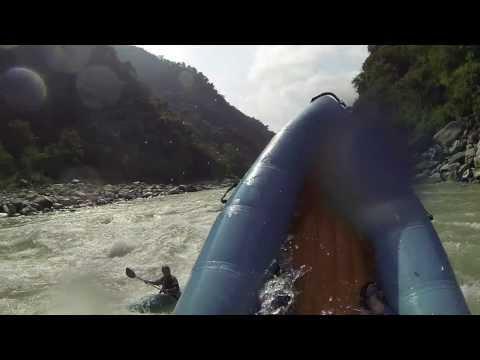 Sun Kosi River in Nepal - Trip 2013