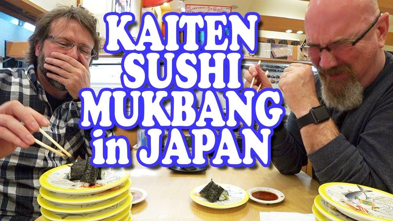 Kaiten Sushi Wasabi Mishap | MUKBANG 먹방 Eating Show
