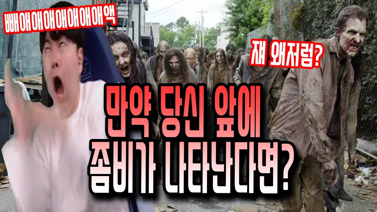 한국에 최악의 좀비사태가 발생했을시, 입만 벌리면 구라가 뿜어져 나오는 그의 방구석 뇌피셜 생존전략