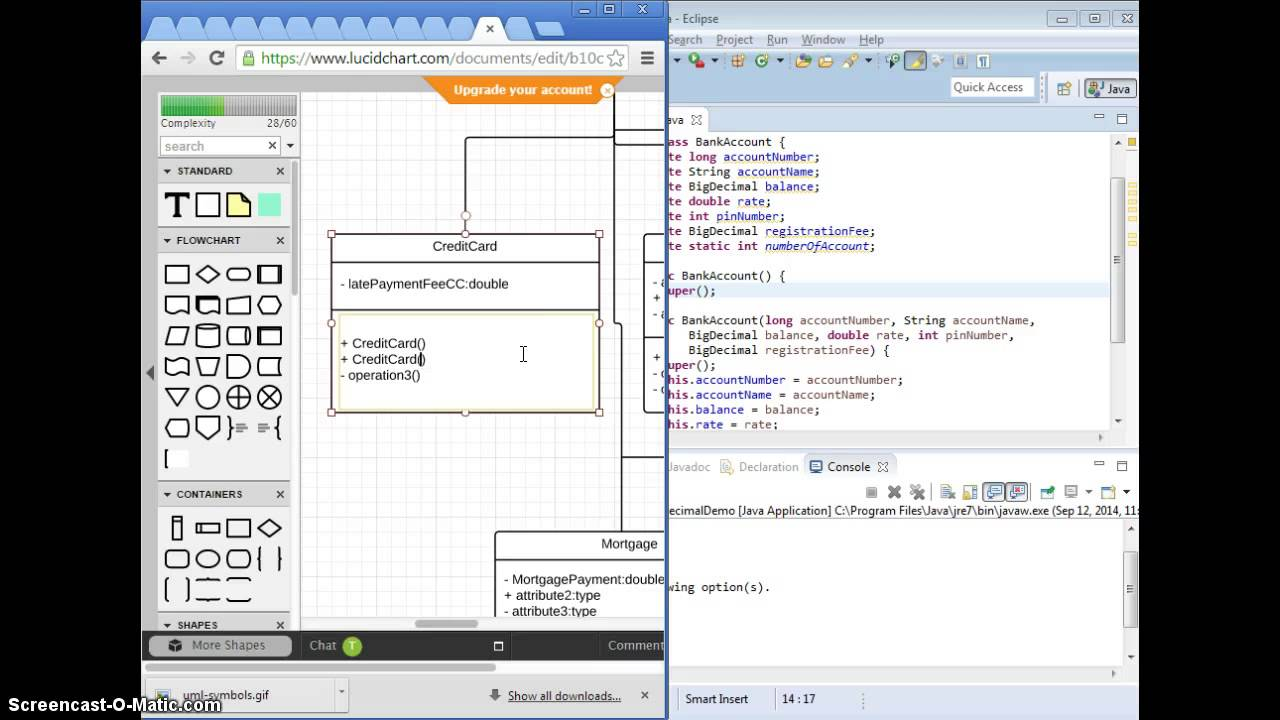 Class UML to Java Code and Inheritance concept - YouTube