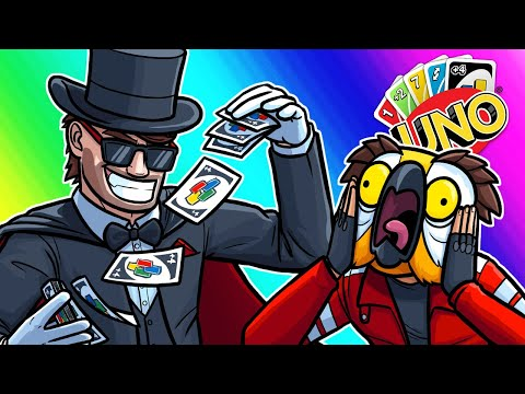 Uno Funny Moments - Battling Team Top Deck!