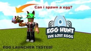Roblox egg hunt 2017 - IS IT A EGG SPAWNER ?