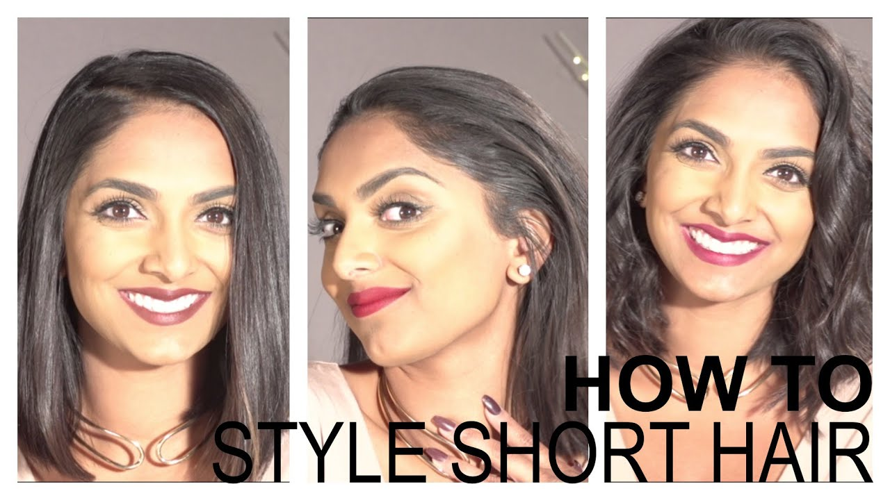 different ways to style your hair how to style hair 3 different ways 5616