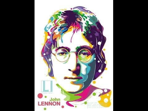 Tutorial Vector Pop Art (John Lennon) by Limada Iqbal