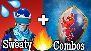 15 Sweaty/Crazy Skin Combos In Fortnite!