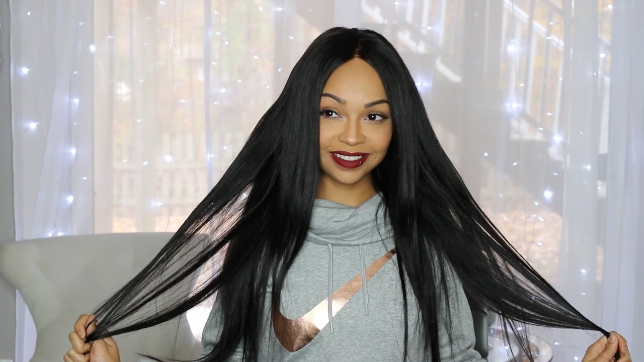 Review Aliexpress Unice Malaysian Straight Extensions Closure