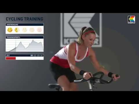 "Video: Kettler Indoor Bike ""Speed 5"""
