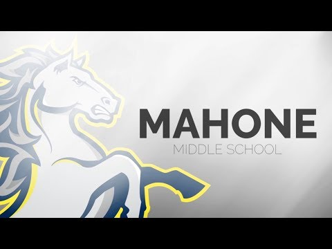 Mahone Middle School promo 2018