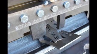 SWAG Off Road Press Brake Finger Brake Kit Demo Video