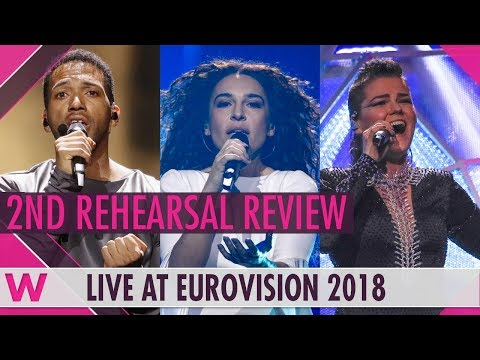 Second Rehearsals: Austria, Greece, Finland  @ Eurovision 2018 (Review) | wiwibloggs