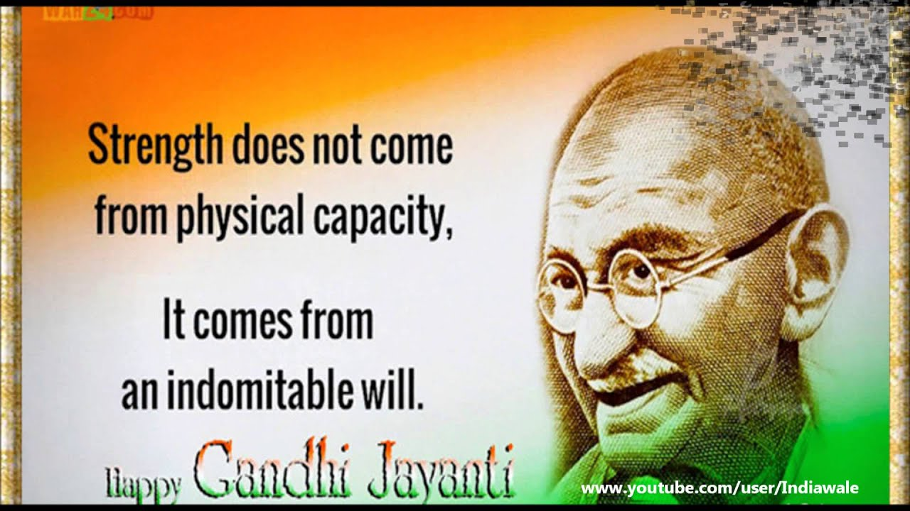 Happy Gandhi Jayanti 2016 Sms Quotes Wishes Greetings Whatsapp