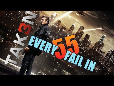 Every Fail In Taken 3 | Everything Wrong With Taken 3, Mistakes and Goofs