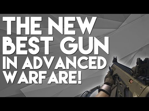 The new best weapon in advanced warfare arx 160 hole puncher gun guide