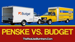 Renting Penske Vs Budget Rental trucks For Moving