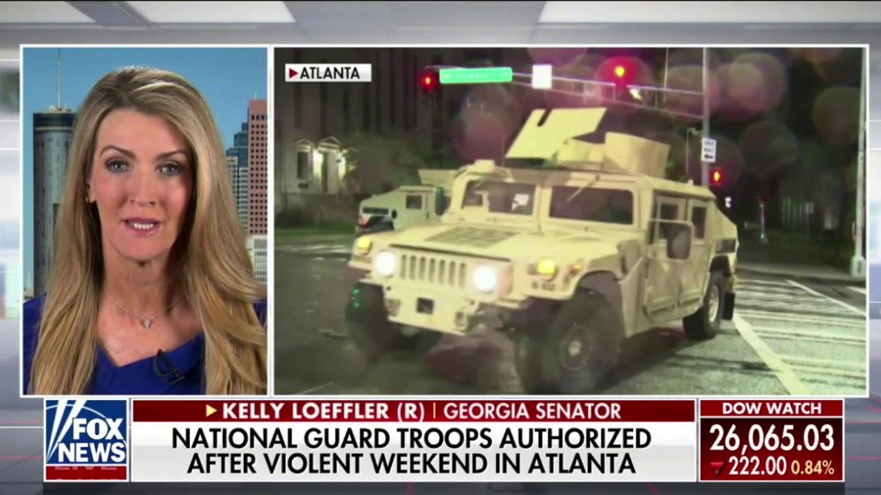 Senator Kelly Loeffler Joins America's Newsroom On Fox News