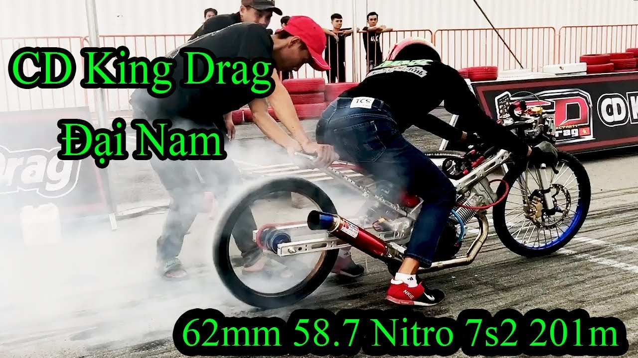 62mm Drag 58.7 Nitro | CD King Drag Đại Nam