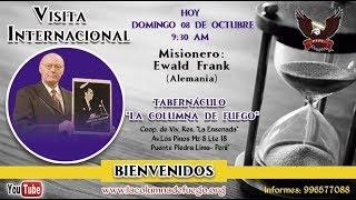 Visita Internacional: Rev. Ewald Frank (Alemania) - Domingo 08.10.17