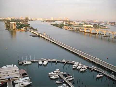 Aereal View of the Venetian Causeaway