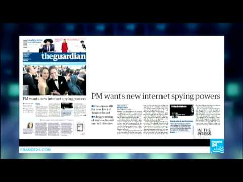 PM Cameron Wants New Internet Spying Powers