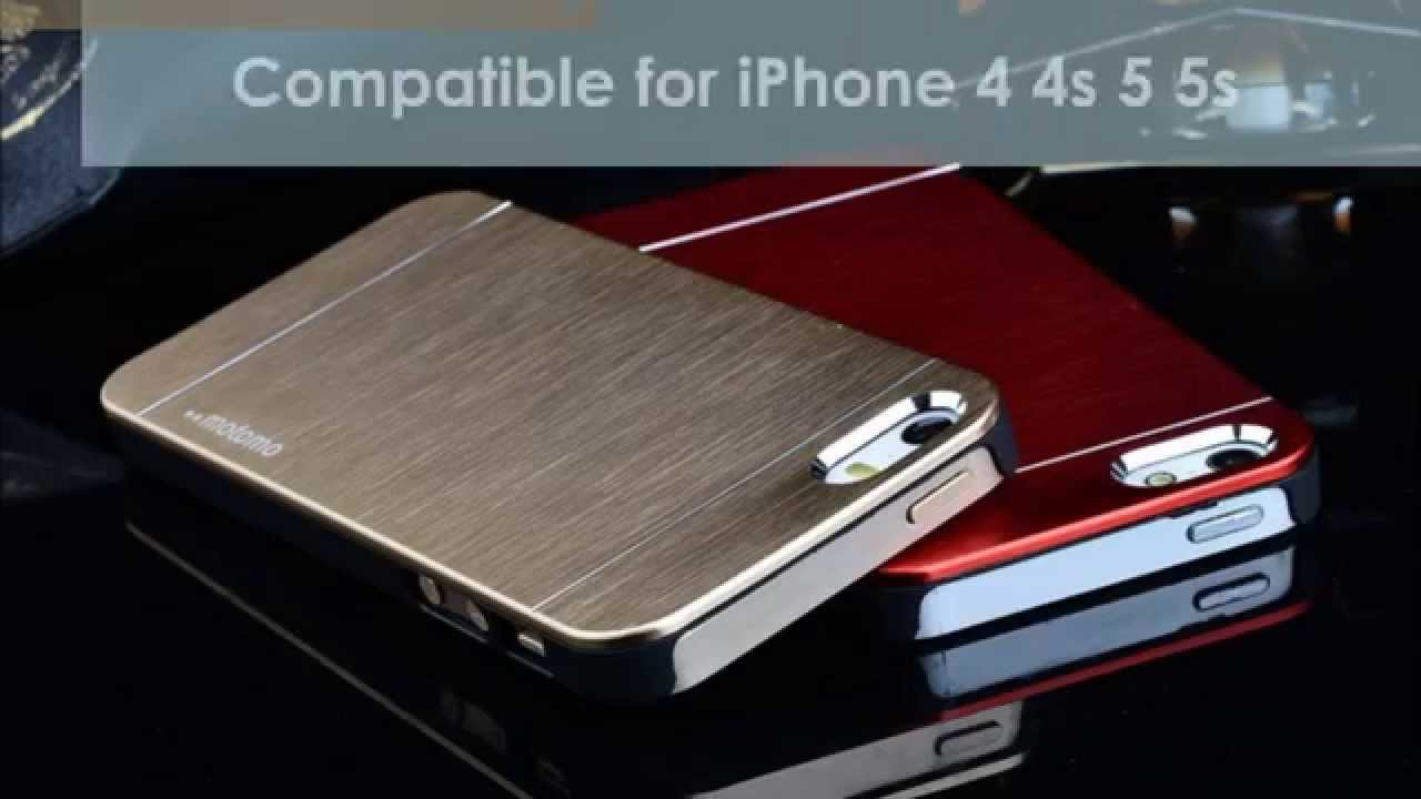 aluminum iphone 5s case lankabuyr motomo metal aluminium back cover 6230