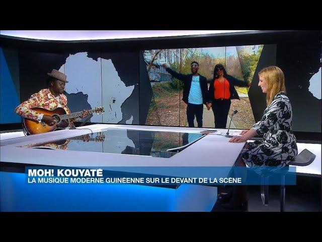 Moh! Kouyaté remet la musique moderne guinéenne sur le devant de la scène