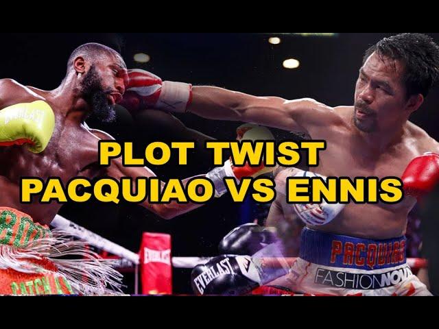 "Manny PACQUAIO VS Jaron ""Boots"" Ennis"
