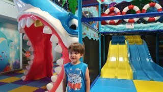 Indoor Playground for kids fun Play time with nursery rhymes song for baby