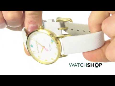 Kate Spade New York Ladies' Novelty Metro Watch (1YRU0765)