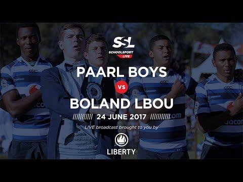 Paarl Boys 1st XV vs Boland Landbou 1st XV, 24 June 2017