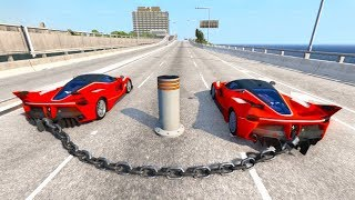 High Speed Crazy Jumps/Crashes BeamNG Drive Compilation #2 (Car Shredding Experiment)