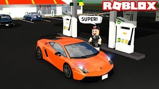 I went to get the panda in the new car! Very Surprised - Roblox Greenville with Panda