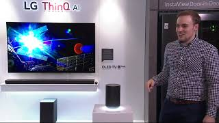 LG ThinQ AI Demonstration (Live)
