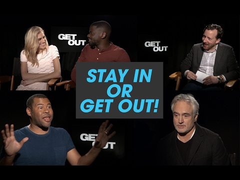 The 'Get Out' Cast Plays 'Stay in or Get Out?'