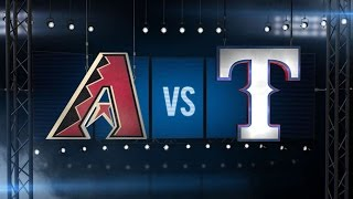 7/8/15: D-backs reach .500 mark with win over Rangers