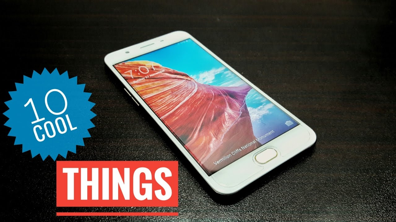 10 cool things you can do with Oppo F1s  YouTube
