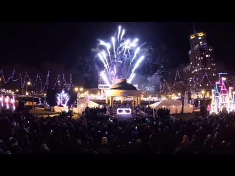 2015 Milwaukee Downtown Holiday Lights with dj Shawna