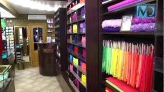 видеорепортаж магазина тканей и декора «BackStage»