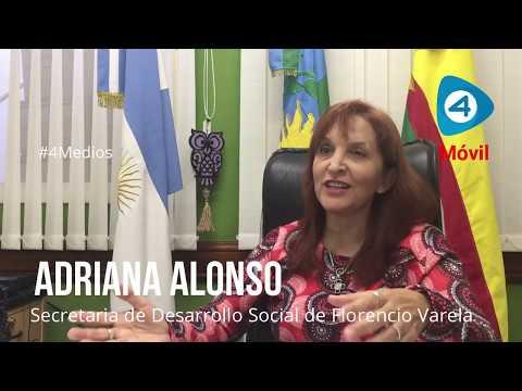 """Adriana Alonso con Cuatro Medios:  """"Nuestra línea de trabajo es estar en la comunidad"""""""